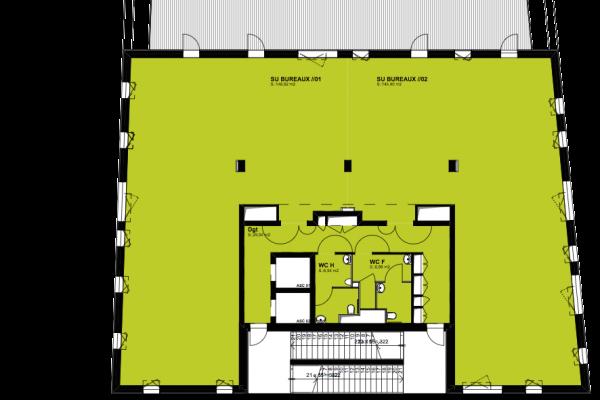 2ème étage Kanoa